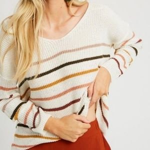 Over The Rainbow Knit Sweater